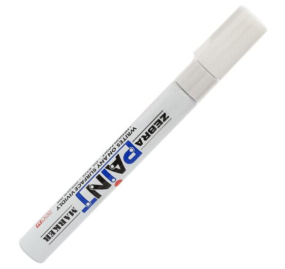 油漆笔 斑马 200m 白