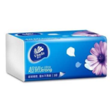 纸巾 维达V2223 三层120抽(4包/提)